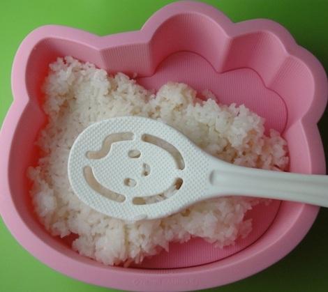 pastel arroz hello kitty arroz  - Pastel de arroz de Hello Kitty