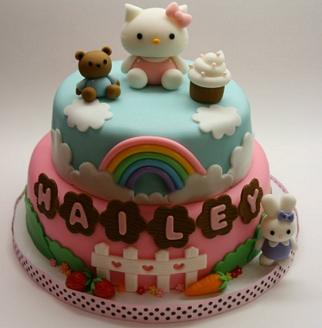 Tartas de cumpleaos de Hello Kitty