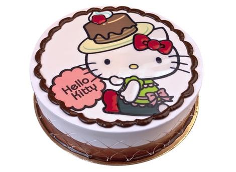tartas cumpleaños hello kitty chocolate